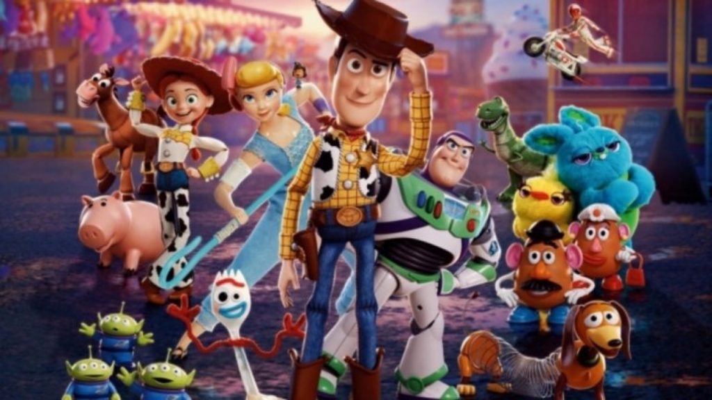 'Toy Story 4' successfully dominates global movie charts
